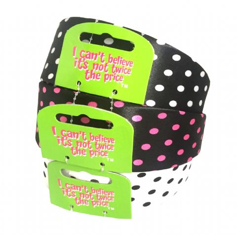 3 Large Polka Dot Alice Bands